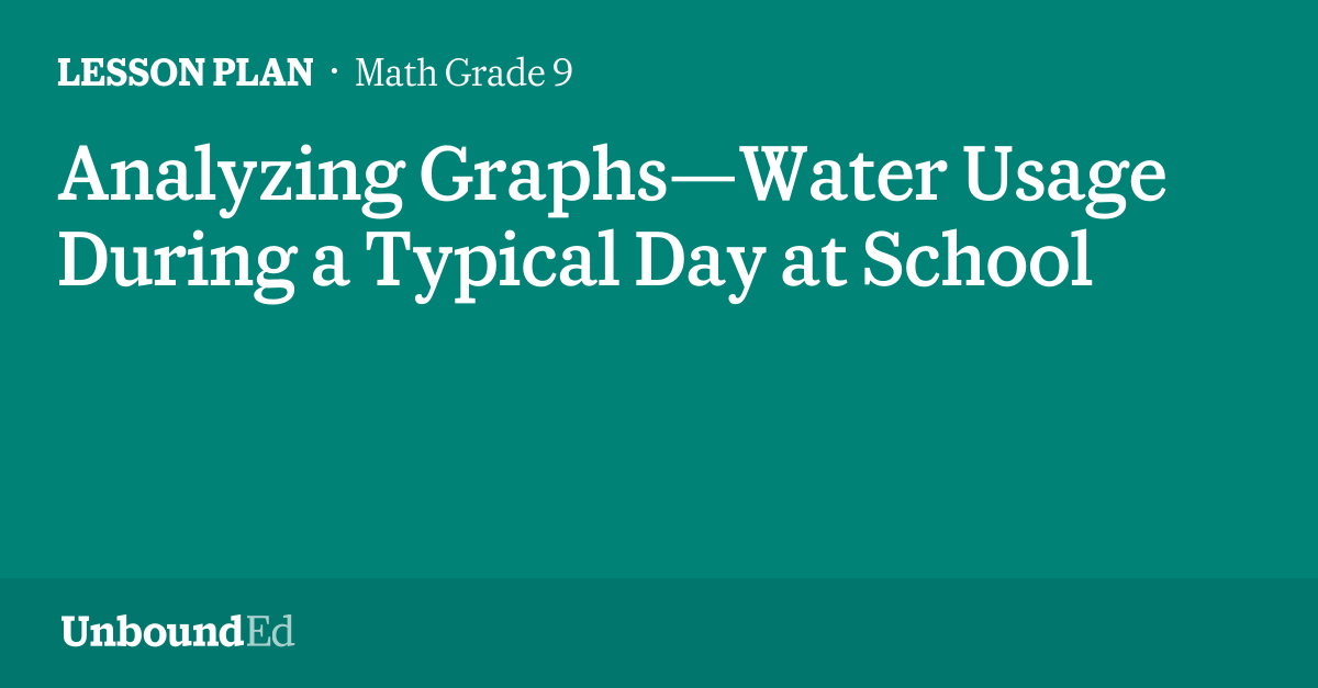 Menu Worksheets Pdf Math G Analyzing Graphswater Usage During A Typical Day At School System Of Equation Word Problems Worksheet Pdf with Money And Time Worksheets Excel  Nature Of Science Worksheets Word