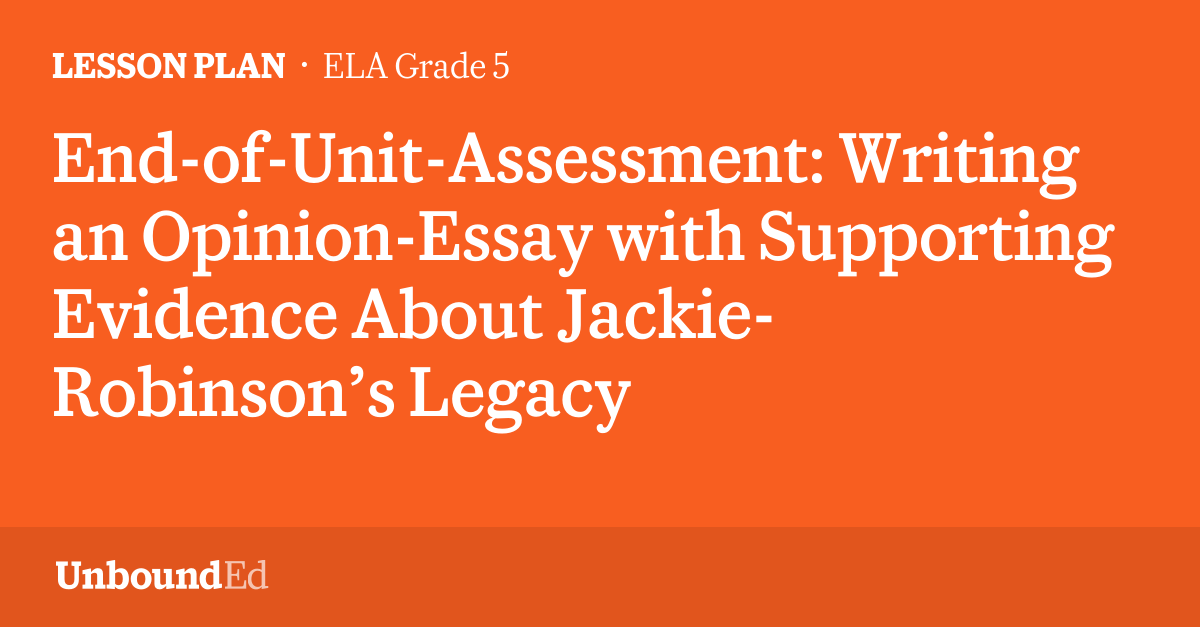 essay about jackie robinson